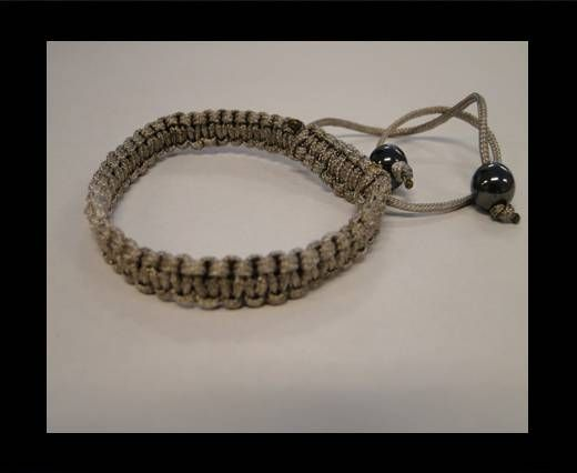 Shamballa Simple Bracelet SB-Grey