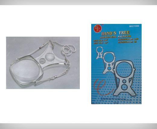 brass Magnetic clasp Shoulder Magnifier