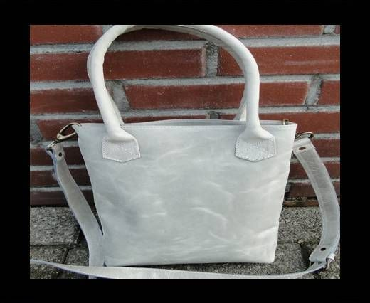 Smaller Shopping Bag with handle -20702 - Light Grey