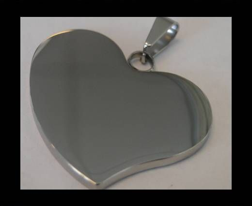 Stainless steel pendant SSP-198-38-BY-30mm