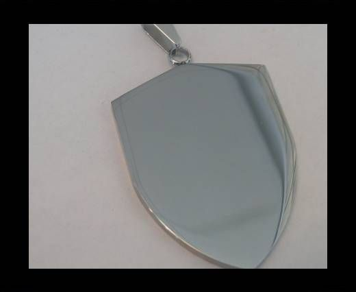 Buy Stainless steel pendant SSP-201-42-BY-42mm at wholesale price