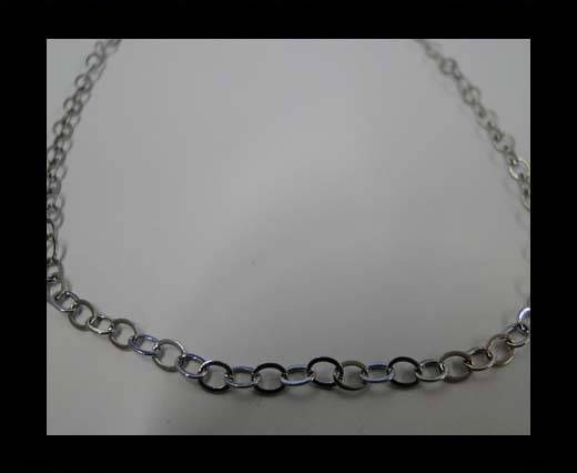 Stainless Steel Chain Item-30-0,5*3*4mm Steel