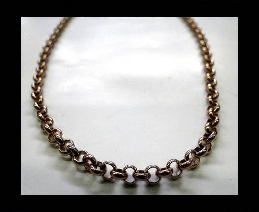 Steel Chain Item 12 Rose Gold 3.5mm