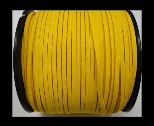 Suede cord - 3mm - Dark Yellow
