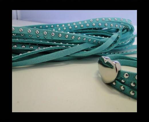 Suede cords 5mm - Turquoise