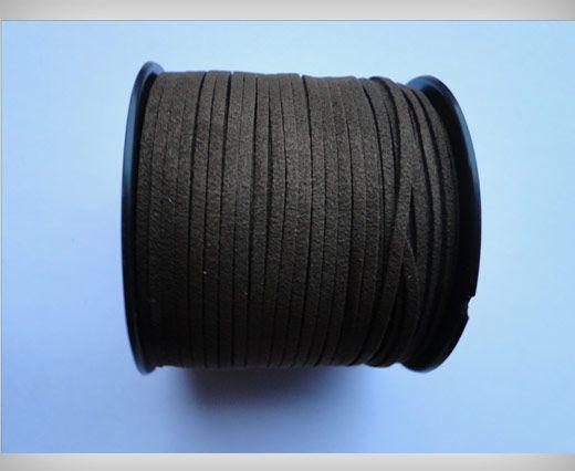 Suede Cords-3mm-Dark Brown