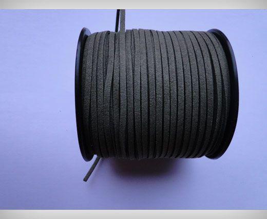 Suede Cords-3mm-Khakhi