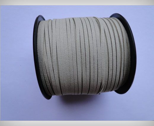 Suede Cords-3mm-Natural
