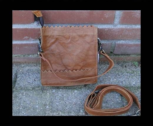 Vintage Leather Mercury Series Bag-20506-Tan Crumble