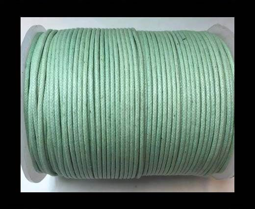 Wax Cotton Cords - 1mm - Mint