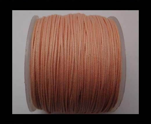 Wax Cotton Cords - 0,5mm - Baby Pink