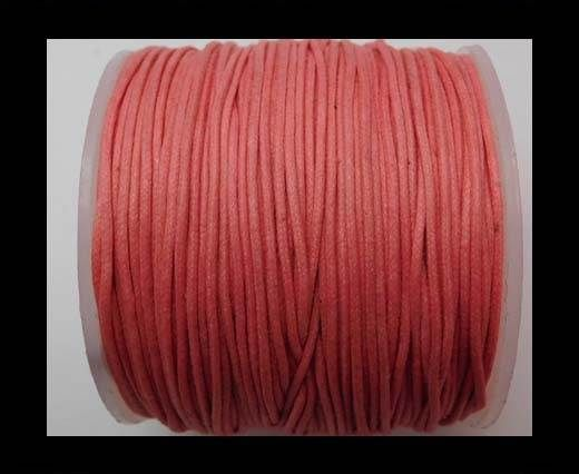 Wax Cotton Cords - 0,5mm - Pink