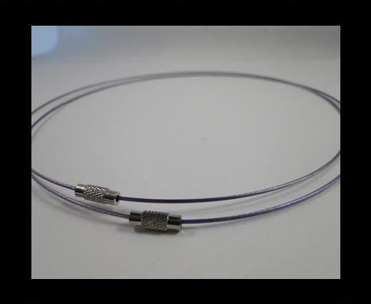 Wire-Cord-Light Purple