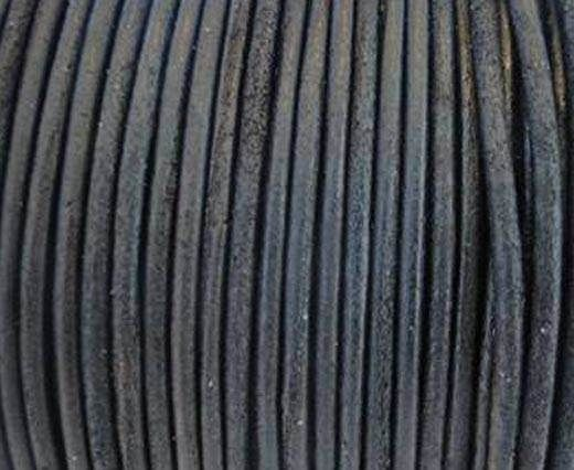 Round Leather Cord SE/R/Vintage Brown-2mm