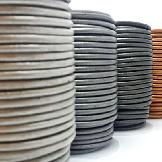 Mixed Round Leather