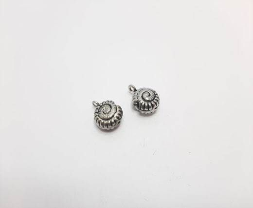 Antique Silver Plated beads - 44270