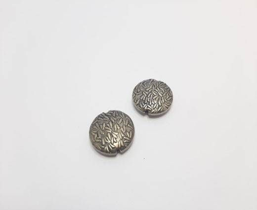 Antique Silver Plated beads - 44280
