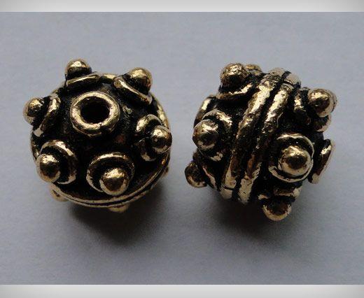 SE-1620-Antique Gold Large Sized Beads