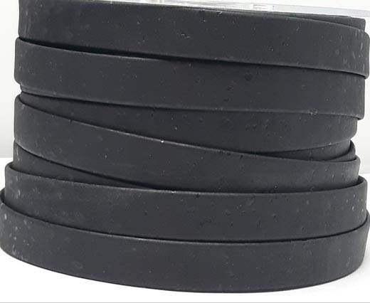 Cork Flat-10mm-Black