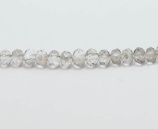 Faceted Glass Beads-2mm-BLACK DIAMOND