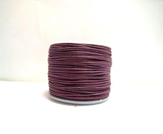 Wax Cotton Cords - 0,5mm - Burgundy