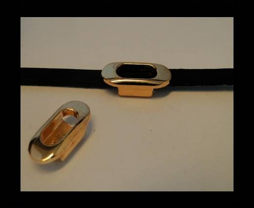 CA-4644-Rose Gold-Zamac parts for leather