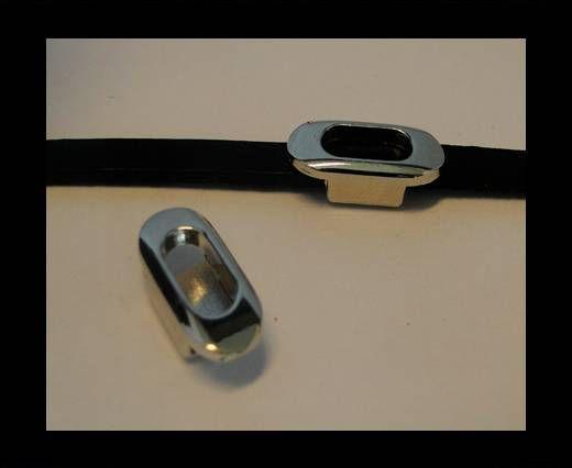 Zamak part for leather CA-4644-Steel Finish