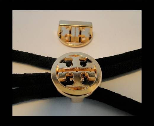 Zamak part for leather CA-4646-Rose Gold