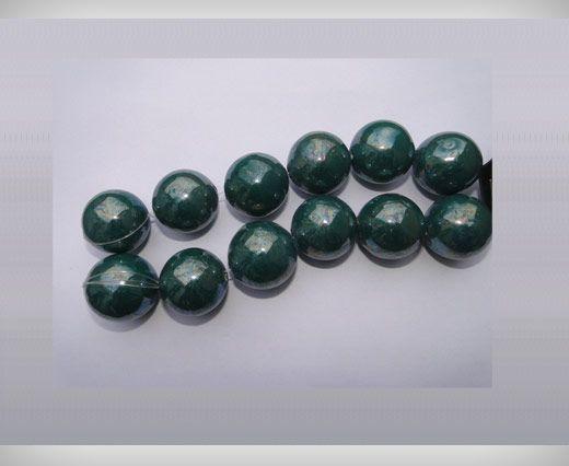 Ceramic Beads-21mm-Green