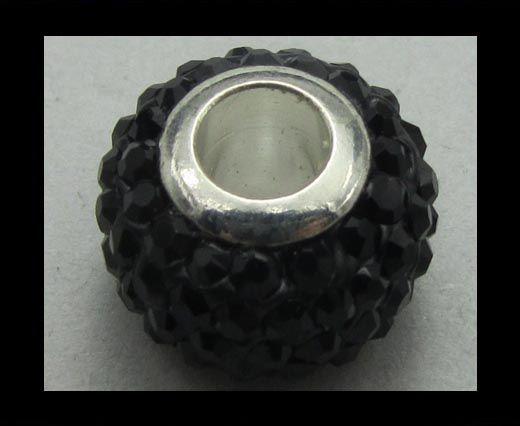 Crystal - Big Hole Beads CA-4236