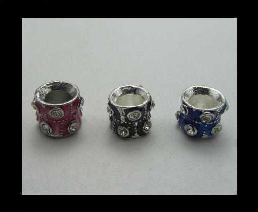 Crystal  Big Hole Beads CA-4146