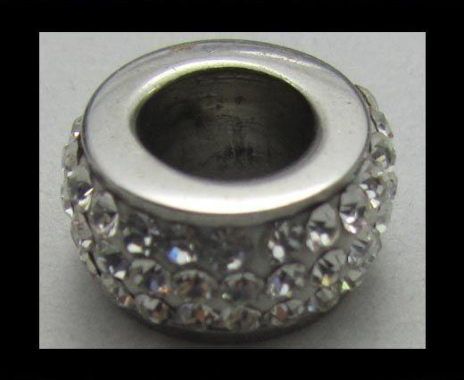 Crystal  Big Hole Beads CA-4235