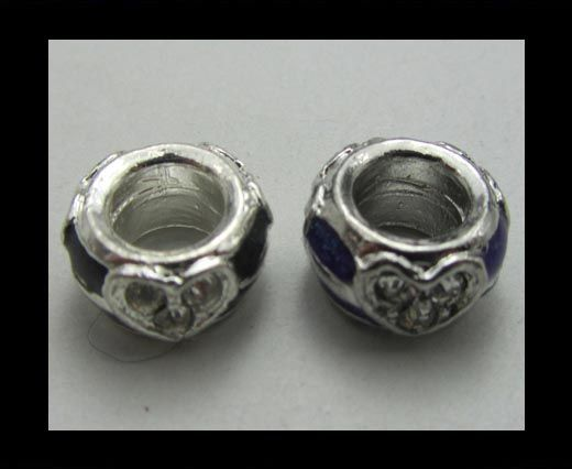 Crystal Big Hole Beads CA-4152