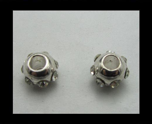 Crystal Big Hole Beads CA-4187
