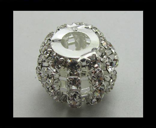 Crystal Big Hole Beads CA-4160