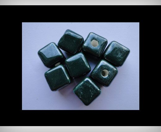 Cube-14mm-Green