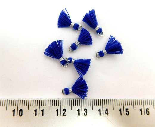Cotton Tussels - 1mm - Dark Blue