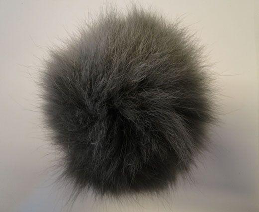 Fox Fur-Light Grey -14cms