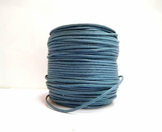 Wax Cotton Cords - 1,5mm - Denim