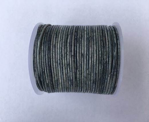 Round Leather Cord -1mm- Dark Blue(040)