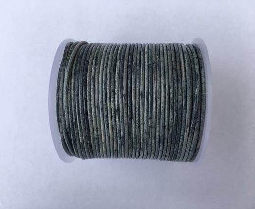 Round leather cord-2mm-Dark Blue(040)