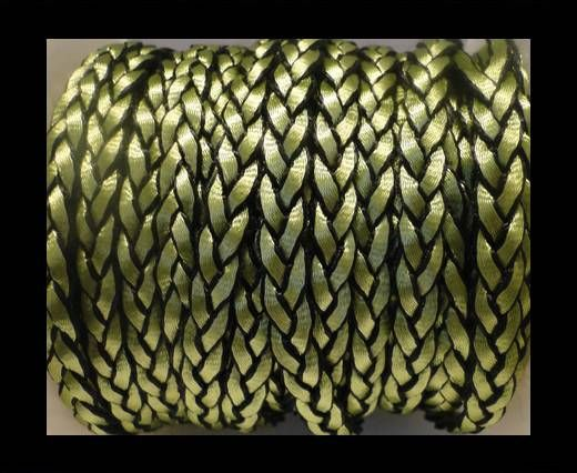 Eco-Flat Braided Cords-style 1-8mm-Green