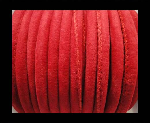 Eco-Nappa 6mm-Fabric Style- red