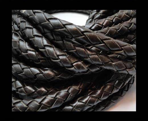 Fine Braided Nappa Leather Cords-8mm-DI B 03 dark brown closer