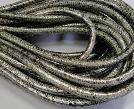 Fine Nappa-Plain-style -Silver Antique-6mm