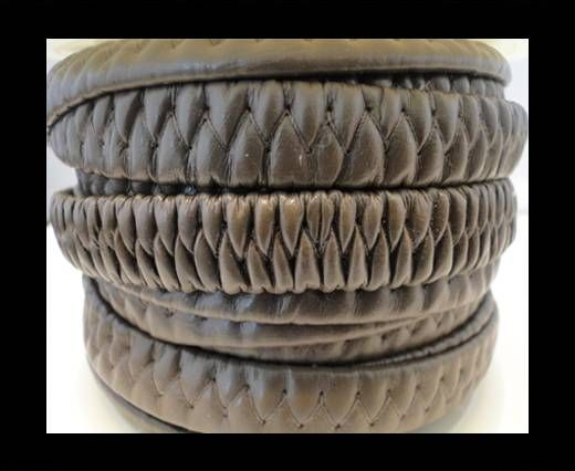 synthetic nappa leather Elastic-Nappa-10mm-Dark Brown