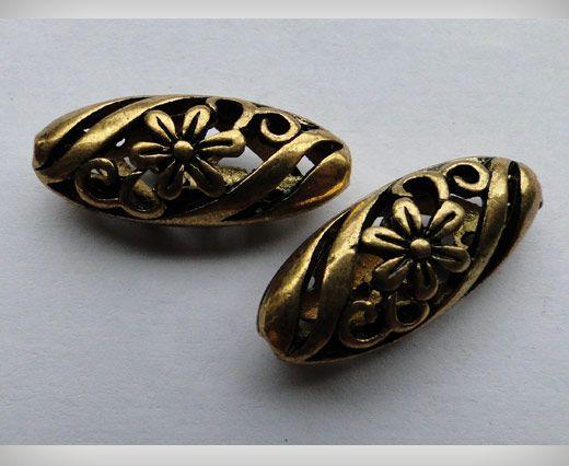 SE-1700-Gold Antique Large Sized Beads