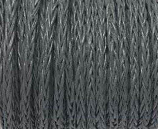 Round Braided Bolo Cords - 4mm - grey