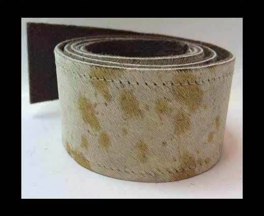 Hair-On Leather Belts-Cow Skin -40mm