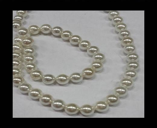 High quality pearls 6 mm White